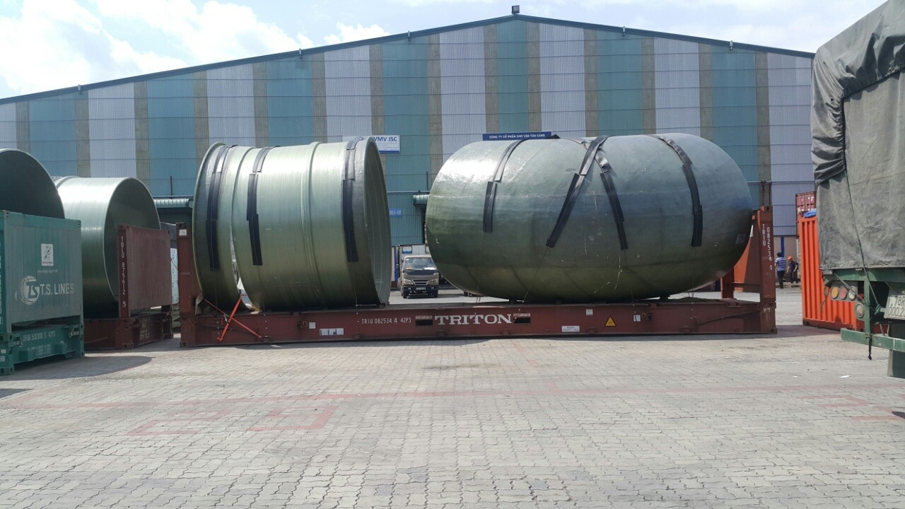 PAPER MILL FACTORY EQUIPMENT TRANSPORTATION TO BINH DUONG PROVINCE